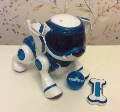 Teksta Electronic Robotic Dog With Ball And Bone