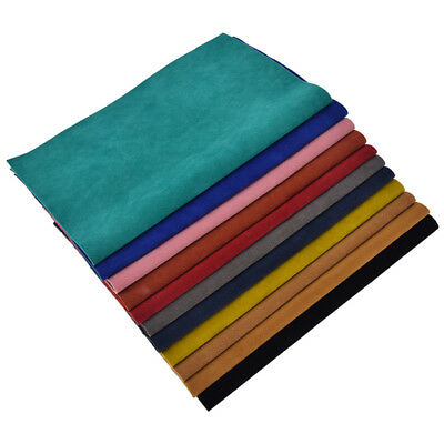 A4 Sheet PU Leather Velour Fabric DIY Craft Bag Hair Bow Craft Shoes Material