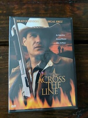 (1A2)  Across the Line (DVD, 1999) BRAND NEW! FACTORY SEALED! FREE SHIPPING