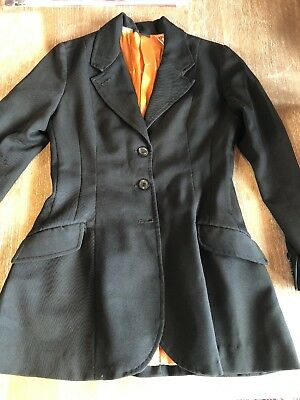Black Horse Riding Jacket