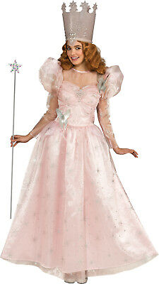 Wizard Of Oz Deluxe Glinda the Good Witch Adult Costume - Standard (One-Size)