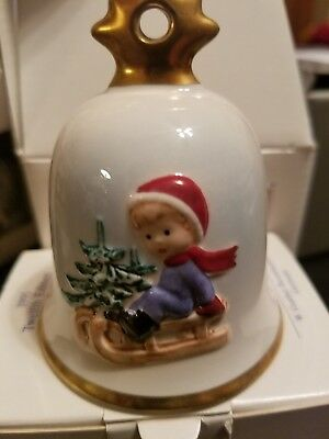 Goebel,1995,Twelfth Edition Annual ChristmasBellOrnament