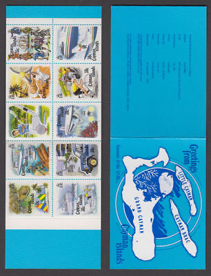 Cayman Is. - 1993 Tourism Booklet. Sc. #667f, SG #SB1. Mint NH