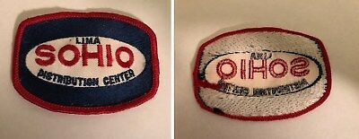 Vintage SOHIO Distribution Center Uniform Patch in very good condition $1 ship