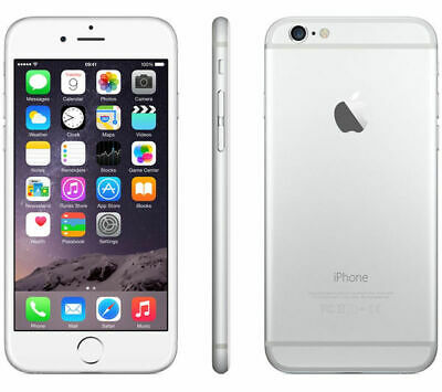 Apple iPhone 6 Plus 64GB Verizon + GSM Unlocked 4G LTE AT&T T-Mobile - Silver