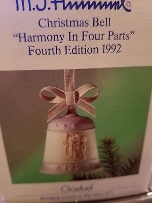 Goebel,Christmas Bell,Harmony In Four Parts,Four Edition 1992
