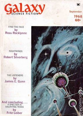 Galaxy Science Fiction (pulp/digest) #Vol. 27 #2 1968 FN Stock Image