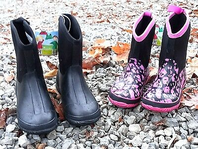 FAST SHIPPING! Insulated Kids/Womens Muck Boots, Winter, Snow, *Quality* Slip-On