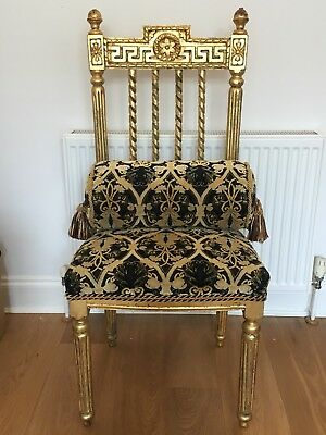 King Queen Gold Throne/Chair