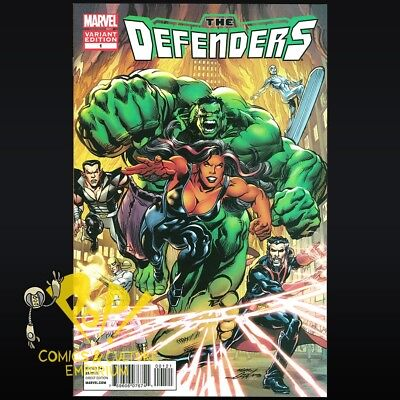 DEFENDERS #1 2012 NEAL ADAMS Mounts VARIANT Marvel Comics SHE HULK NAMOR NM D101