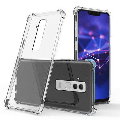 For Huawei Mate 20 Lite 360° Shockproof Clear Soft TPU Case Cover