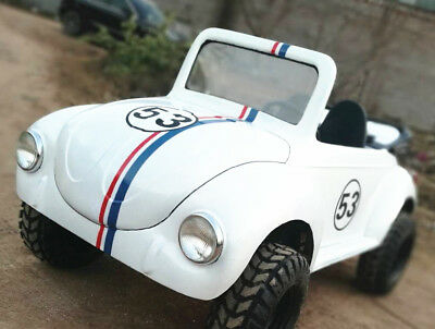 150cc Semi-Auto Off Road Classic VW Beetle For Adult Kids Buggy Go Kart