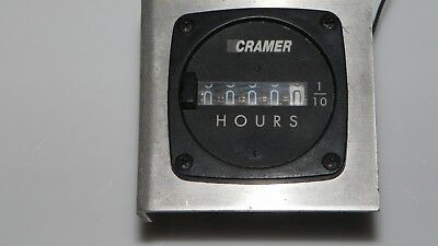"""Timer. """"Hour Meter"""" Old but in good working condition."""