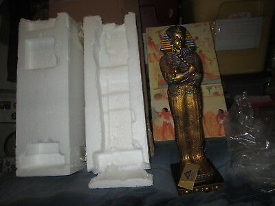 "2001 King Tutankhamun Coffin Statue 16"" Myths & Legends The Egyptian Collection"