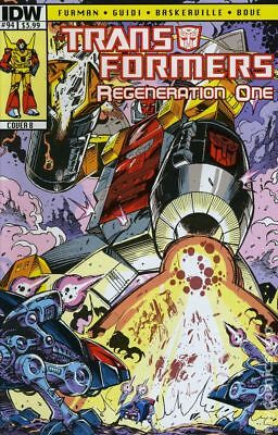 Transformers Regeneration One (IDW) #94B 2013 VF Stock Image