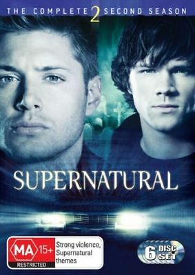 N13 BRAND NEW SEALED Supernatural : Season 2 (DVD, 2007, 6-Disc Set)