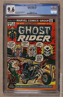 Ghost Rider (1st Series) #6 1974 CGC 9.6 0293341014