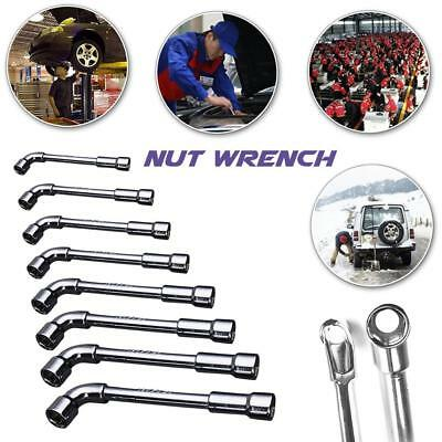 Handy Spanner L Type Pipe Double Ended Hex Socket Wrench Tool Various Sizes