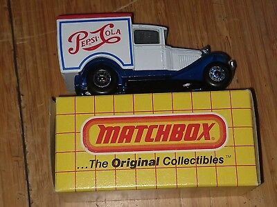 Match Nox No. 38 Model A Truck Pepsi 1983 New in Box Free US Shipping