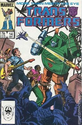 Transformers (Marvel) 1st Printing #14 1986 FN Stock Image
