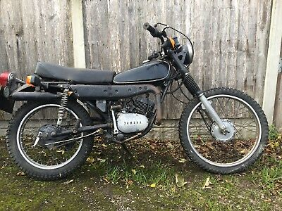 Yamaha DT 125E 1GO Twin Shock and Spares For restoration