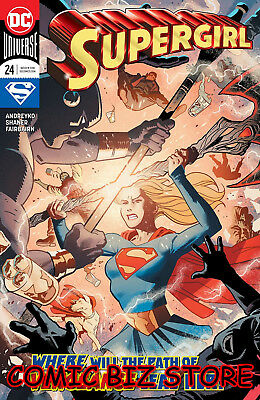 Supergirl #24 (2018) 1St Printing Main Cover Bagged & Boarded Dc Universe
