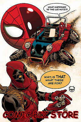 Spider-Man Deadpool #41 (2018) 1St Printing Bagged & Boarded Marvel Comics
