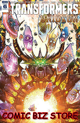 Transformers Unicron #6 (Of 6) (2018) 1St Print Milne Cover A Idw Comics ($7.99)