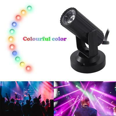 LED Stage Lighting Spin Effect Pinspot Party Show Light Beam Spotlight DJ DISCO