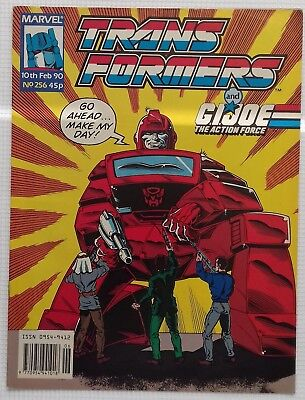 Transformers UK Comic Issue 256