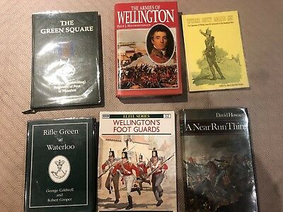 Selection of Napoleonic miiltary history books