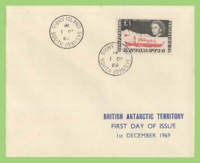 British Antarctic Territory 1969 £1 HMS Endurance First Day Cover