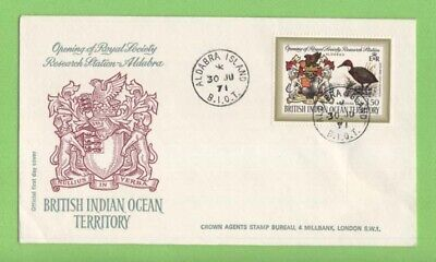 B.I.O.T. 1971 Opening of Royal Society Research Station First Day Cover