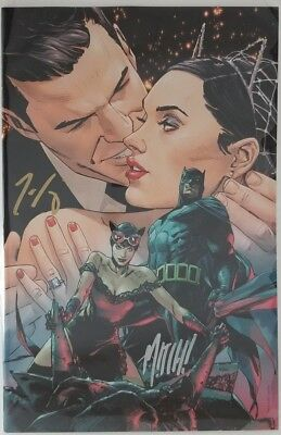 BATMAN #50 Catwoman Clay Mann Virgin Variant Cover C - signed by King and Gerads