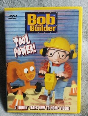 Bob The Builder Tool Power Dvd Kids Toy Animated Vintage New 450