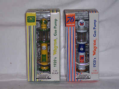 Lot of 2 Wayne Gas Pump 1920's 5 Styles to Choose From 1/25 scale New In Box