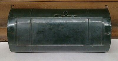 Chicago Apparatus Company Vintage Field Test Case Kit Box Metal Green