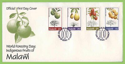 Malawi 1993 Indigenous Fruit Trees set on First Day Cover