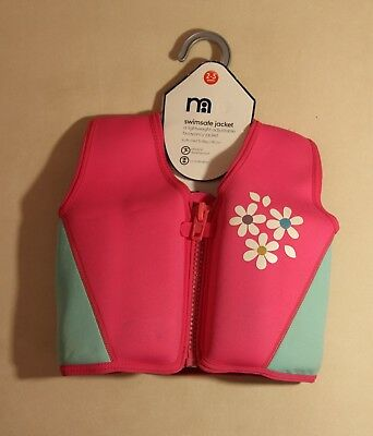 Mothercare Swimsafe Jacket for Child 2-3 Years / 15-18kg. Pink