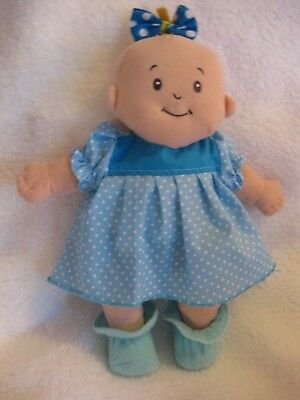 Baby Stella handmade doll clothes/15 inch/dress/hair bow/booties