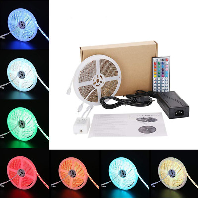 Led Strip Light,5050 RGB Changing Color Kit, Waterproof Lamp with DC12V/4