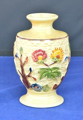 H.j.wood Indian Tree Vase Hand Painted