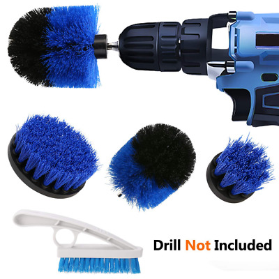 Drill Brush Set, 3 Piece Attachment and Tile Grout Kit for Cleaning Tiles,,