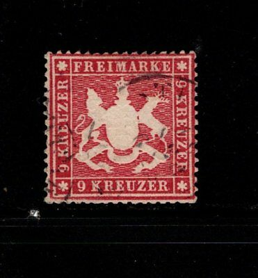 Item No. A5756 – Wurttemberg – Scott # 22 – Used