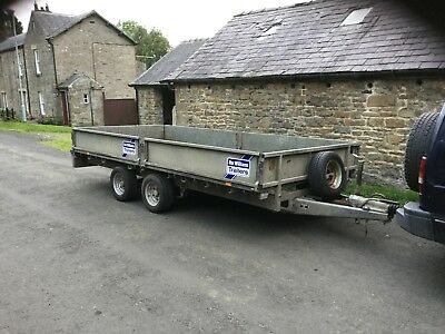 Ifor William LM146G trailer 14ft 2009