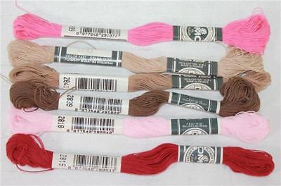 DMC Flower Thread Embroidery Floss Assorted Colors of Color Series 2800