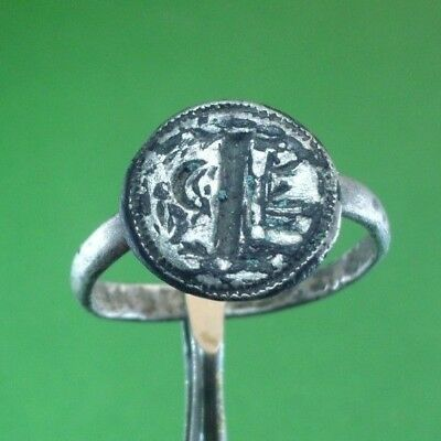 Superb Ancient Roman Silver Ring -  100/300 Ad