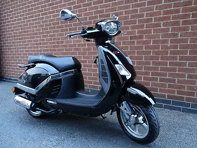 Lambretta 125 N Scooter Rev And Go Never Registered Only 198 Miles Runs Well