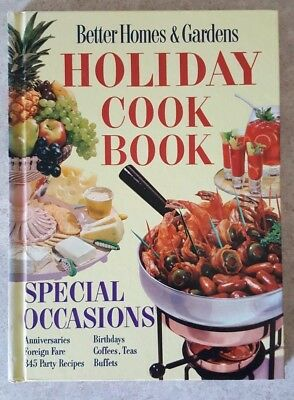 Vintage 1959 Better Homes and Gardens Holiday Cook Book Special Occasions *LOOK*