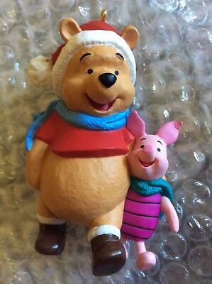 Winnie the Pooh and Piglet Hallmark Keepsake Ornament New in Box